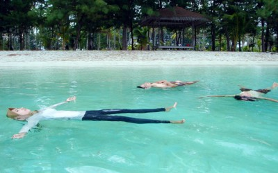 terapi air laut menjangan resort