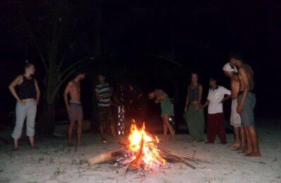 api unggun menjangan resort