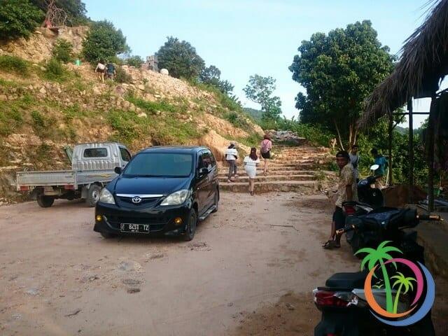 Lokasi Parkir Bukit Love Karimunjawa